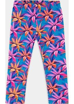Niebieskie legginsy dla dziewczynki w lilie 98 Myprincess / Lily Grey MKA GROUP - kod rabatowy
