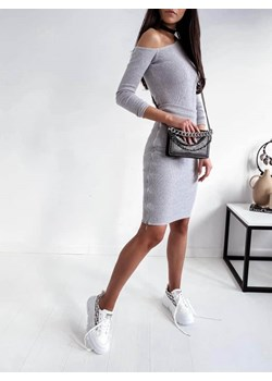 KOMPLET DESI PRĄŻKOWANY GRAY Yasmin Boutique - kod rabatowy