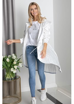 Płaszcz ASYMMETRY GLOW white Maravilla Boutique Maravilla Boutique  - kod rabatowy