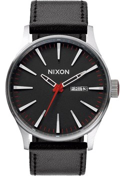 Zegarek Nixon Sentry Leather Black  Nixon www.aleho.pl - kod rabatowy