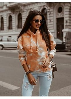 Bluza O'LA VOGA TIE DYE pomarańczowa Olavoga Neli Fashion - kod rabatowy