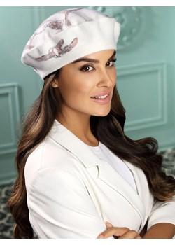 Wełniany beret z cekinową aplikacją Willi RIVANA-000 Willi Eye For Fashion - kod rabatowy