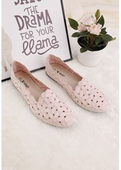 Balerinki różowe 9 Sanabria Yourshoes YourShoes - kod rabatowy