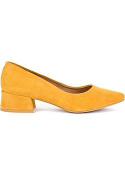 Żółte czółenka Akardo AKARDO.pl - kod rabatowy