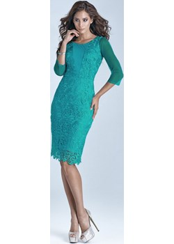 Wyprzedaż! Sukienka Koronkowa długi rękaw Marselini okazyjna cena WygodnaModa - kod rabatowy