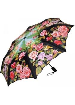 Różany ogród - parasolka składana Von Lilienfeld  Von Lilienfeld Parasole MiaDora.pl - kod rabatowy