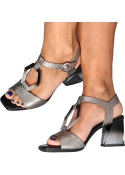 Sandałki Premium - HISPANITAS HV211147 SREBRNE Hispanitas Tymoteo.pl - sklep obuwniczy - kod rabatowy