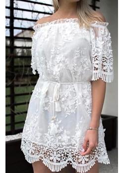 Sukienka WHITE SUMMER BE MODI okazja lafemmeboutique.pl - kod rabatowy