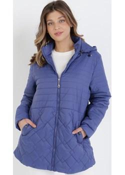 Niebieska Kurtka Acsixie Born2be Odzież - kod rabatowy