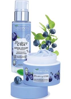 BLUEBERRY C-TOX Krem - pianka nawilżająco-rozświetlający 40 g Bielenda okazja Bielenda - kod rabatowy