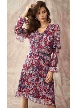 Sukienka w kwiatki Salko Mona Pro Moda - kod rabatowy