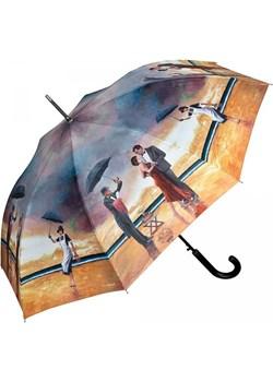 Singing Butler by Theo Michael - długi parasol ze skórzaną rączką Von Lilienfeld  Parasole MiaDora.pl - kod rabatowy