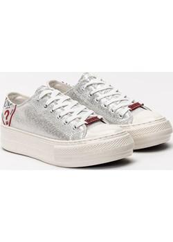 Sneakers'y damskie Guess Nikola (FL7NIKPEL12-SIL) Guess Sneaker Peeker - kod rabatowy