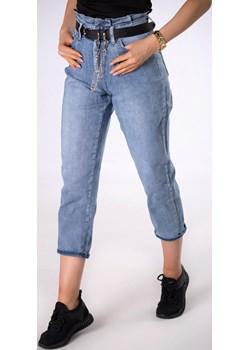 mom jeans z paskiem Ptakmoda.com ptakmoda.com - kod rabatowy