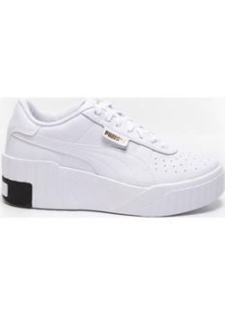 """Cali Wedge Wn""""s Puma White-Puma Black 37343803 Puma eastend - kod rabatowy"""