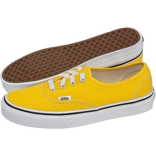 vans authentic żółte