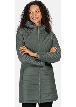 Damski płaszcz zimowy Regatta Parmenia zielony - 46 (UK 20) Develop-free wyprzedaż Aktywnyturysta.pl - kod rabatowy