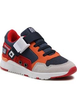 Sneakersy BIG STAR - HH374163 Navy/Red eobuwie.pl - kod rabatowy