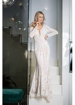 Sukienka AMANDA maxi white Maravilla Boutique Maravilla Boutique  - kod rabatowy