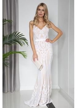 Sukienka GILLIANA maxi white Maravilla Boutique Maravilla Boutique  - kod rabatowy