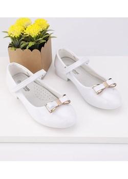 Balerinki białe lakierowane 1 Morris Yourshoes wyprzedaż YourShoes - kod rabatowy