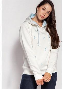 Bluza z kapturem ELISSA 9682 OFF WHITE Lee Cooper Lee Cooper - kod rabatowy
