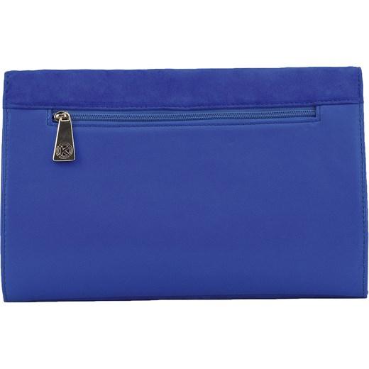 0f9b698e9e0f2 ... Niebieska torebka zamszowa kazar-com niebieski elegancki ...