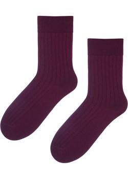 Skarpetki klasyczne z wełny merynosa ciemny bordo Regina Socks Estera Shop - kod rabatowy