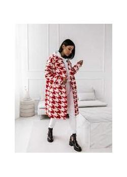 Płaszcz COCOMORE TWEED COLOUR fuksja Cocomore Neli Fashion - kod rabatowy