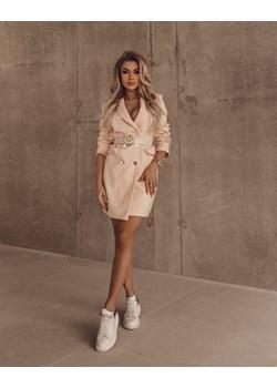 Sukienka/Płaszcz O'LA VOGA SLEEVE DRESS róż Olavoga Neli Fashion - kod rabatowy