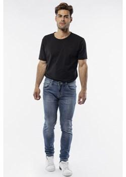 Wygodne przylegające jeansy Bgt Station promocyjna cena Italian Collection - kod rabatowy