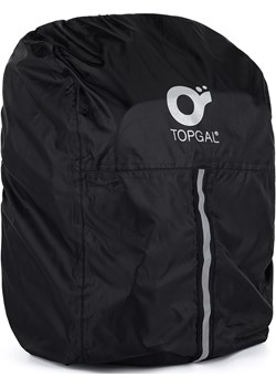 Peleryna na plecak Topgal ZENO 21049 A - Black Topgal Topgal - kod rabatowy