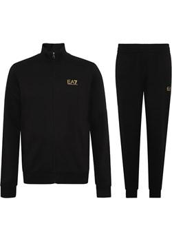 EMPORIO ARMANI EA7 stylowy męski dres GOLD 2021 okazja EITALIA - kod rabatowy