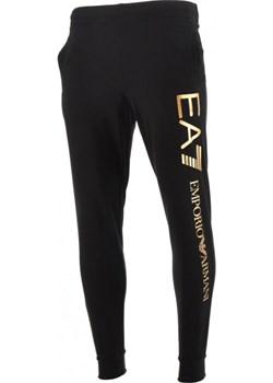 EMPORIO ARMANI EA7 męskie spodnie dresowe GOLD 2021 EITALIA - kod rabatowy