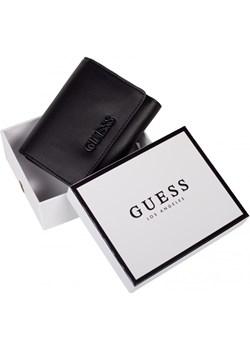 GUESS markowy damski portfel BLACK 2021 Guess EITALIA - kod rabatowy
