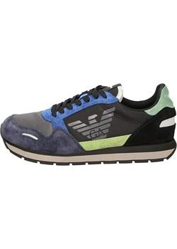 EMPORIO ARMANI markowe włoskie sneakersy MULTI 2020 Emporio Armani wyprzedaż EITALIA - kod rabatowy