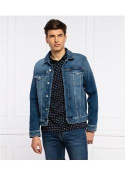 CALVIN KLEIN JEANS Kurtka jeansowa   Slim Fit   denim Gomez Fashion Store - kod rabatowy