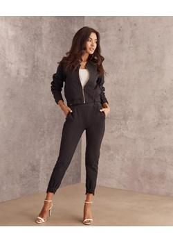 Komplet Cindy bomberka i spodnie czarny Beewear - kod rabatowy