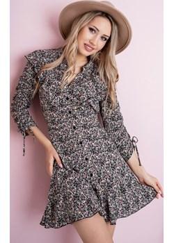Wzorzysta sukienka AURORA Stella Vera - kod rabatowy