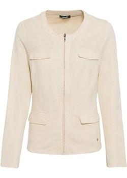 Bluza damska na suwak z kieszeniami Safari Allure 11201332 Kremowy 34 Olsen wyprzedaż Olsen - kod rabatowy