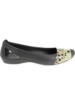 Crocs Sienna Leopard Fade Flat Graphite 36,5 Crocs London Shoes - kod rabatowy