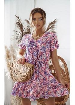 Sukienka Rosa multikolor Shopaholics Dream SHOPAHOLIC`S DREAM - kod rabatowy