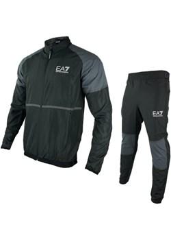 EMPORIO ARMANI EA7 męski sportowy dres BLACK VENTUS 2021 promocja EITALIA - kod rabatowy