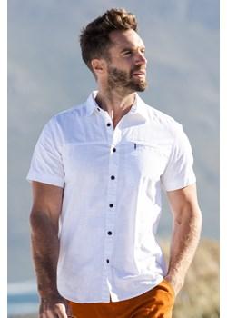 Coconut Slub Texture - koszula męska Mountain Warehouse okazyjna cena Mountain Warehouse - kod rabatowy