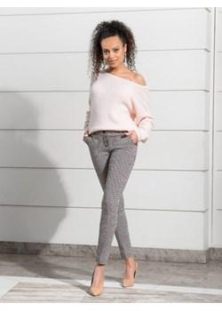 Klasyczne spodnie cygaretki Verona BiancaLoren.pl - kod rabatowy