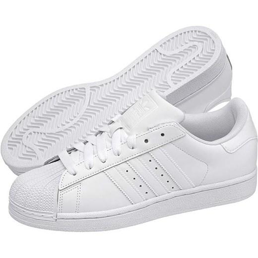 buty adidas superstar białe