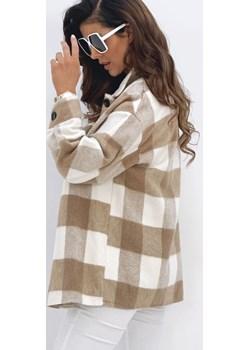Wiosenna koszula w kratę Camel Versada wyprzedaż Versada - kod rabatowy