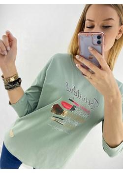 Bluzka Beautiful zielona Novvi.pl wyprzedaż Novvi - kod rabatowy