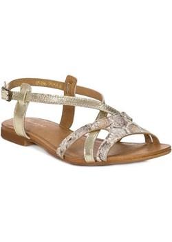 Sandały Maciejka 05186-25 złote promocyjna cena NajlepszeButy - kod rabatowy