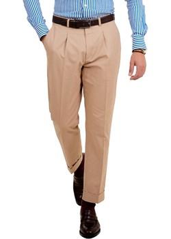 Spodnie z jedną zakładką Modena (Chino beż) 4 Gentleman 4 Gentleman - kod rabatowy
